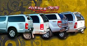 Capota de fibra para pickup, capota de fibra para Nova S10, capota para ranger, e capoda da Hilux dupla.