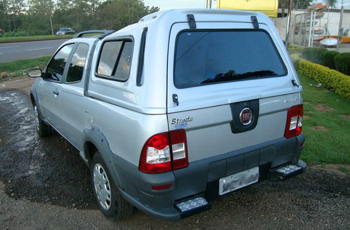 Capota de Fibra para Fiat Strada