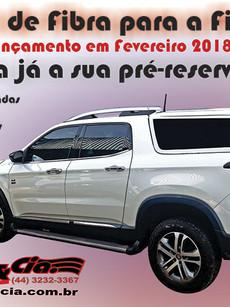Capota de Fibar para Fiat Toro