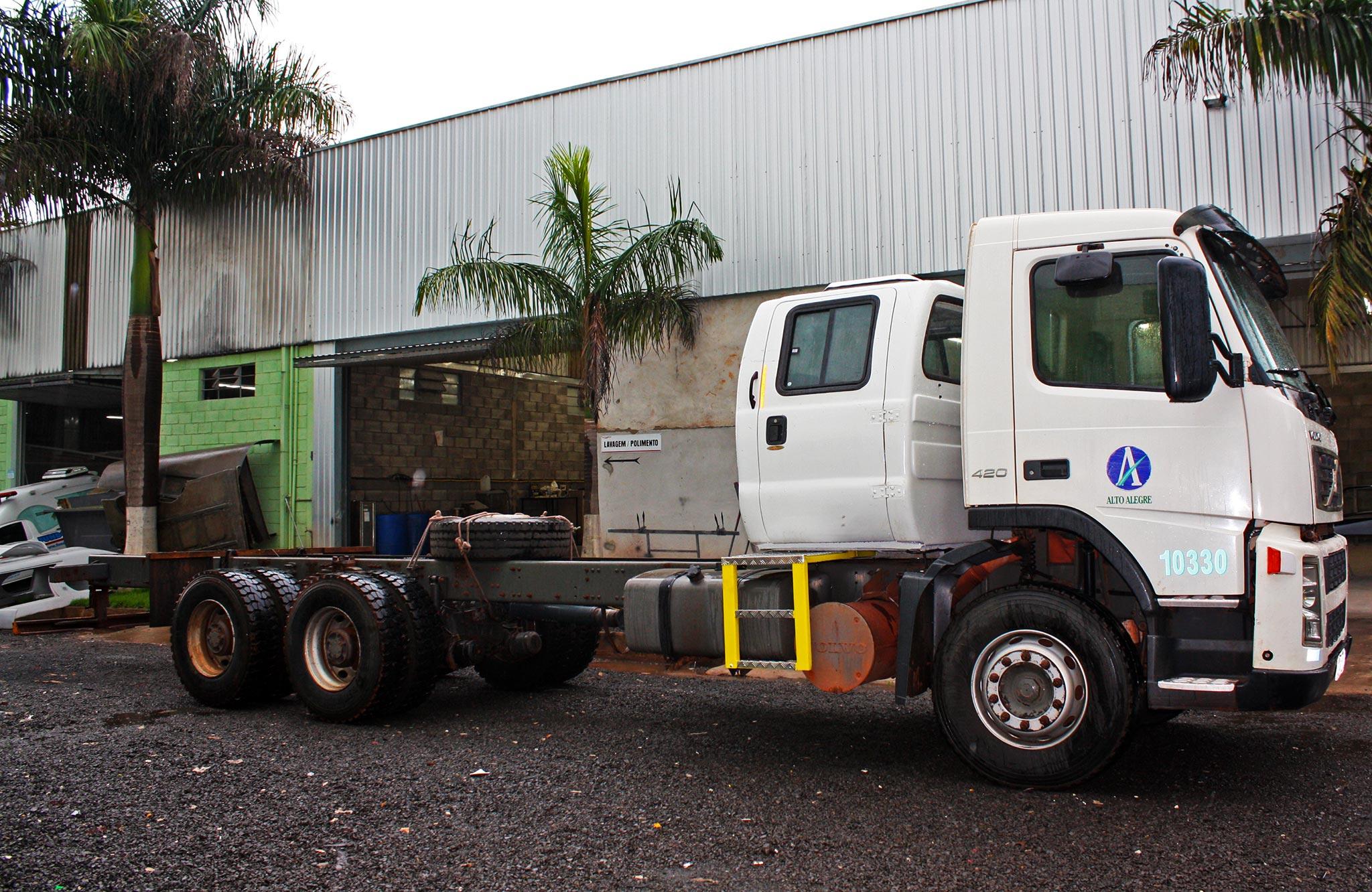 Cabine Suplementar Caminhão Volvo