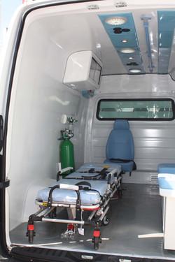 Transformação Sprinter Ambulancia