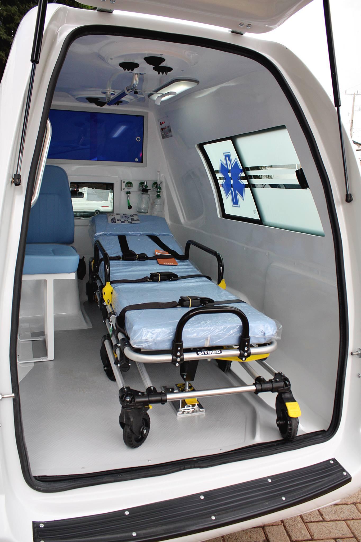 Transformação Ambulância P/ Montana
