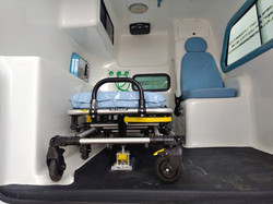 Nova S10 Dupla Ambulância