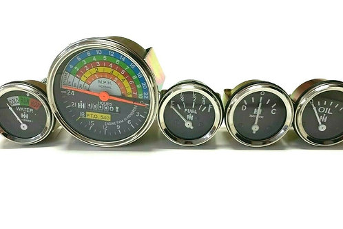 For Farmall IH Tachometer Gauges Kit 460 560 353868R91 362177R94 369607R91