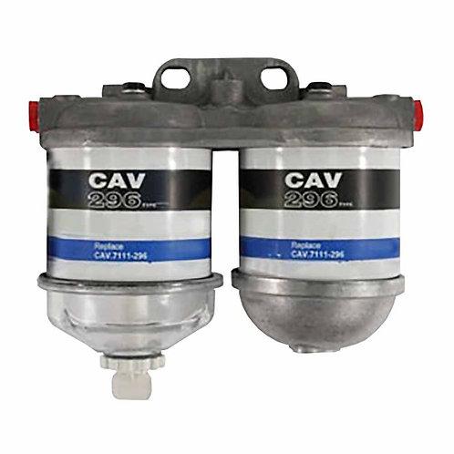 Dual Fuel Filter CAV Type Assembly For Massey Ferguson Ford John Deere Case