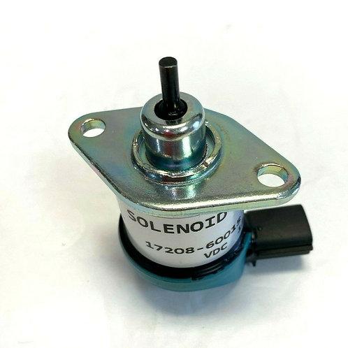 For Kubota D905 D1005 D1105 V1205 V1305 V1505 Fuel Shut off Solenoid 17208-60015