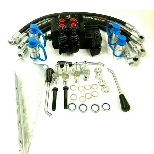 Dual Hydraulic Remote Valve Kit For Massey Ferguson 35 65 135 165