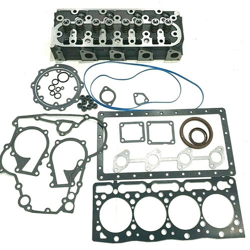 Cylinder Head Complete with Full Gasket Set Replacement Fits For Kubota V1505 B2