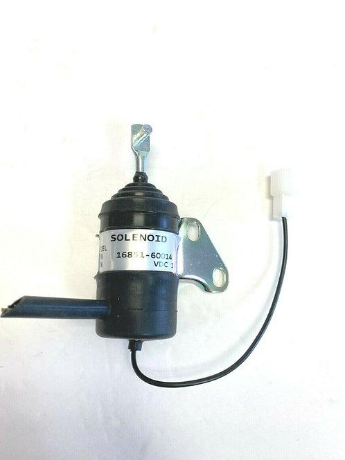 For Kubota Fuel Shut Off Solenoid 16851-60014 RTV900T BX1500D Denso 052600-453