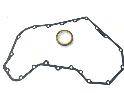 For Cummins 5.9 Timing Cover Gasket with Front Crankshaft Seal Dodge D250 D350