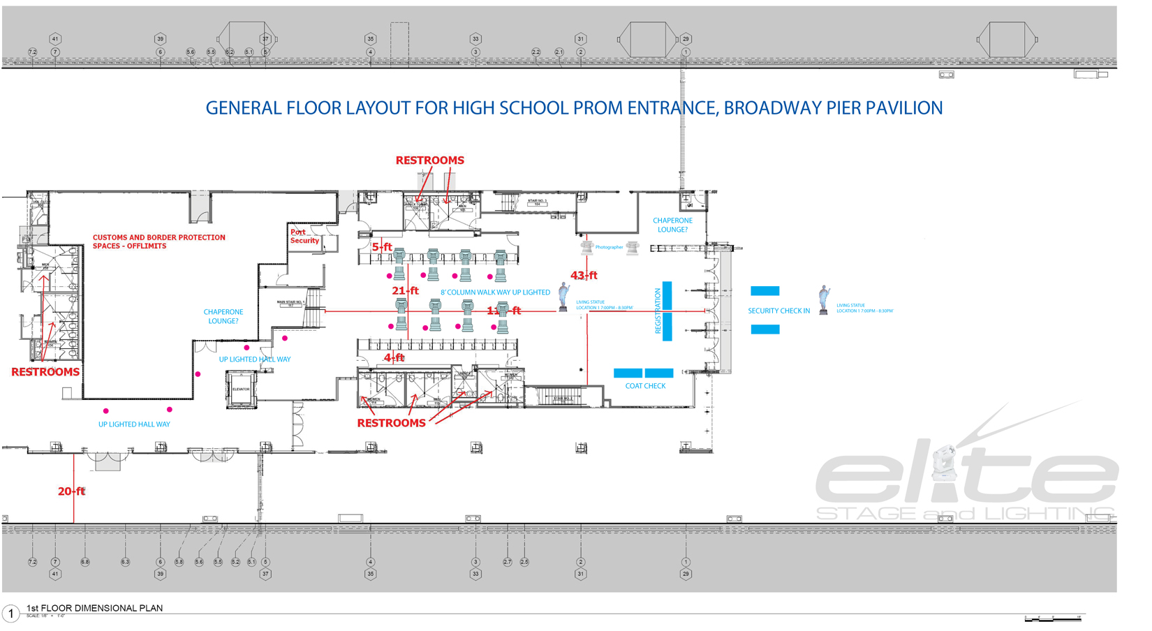 PROM ENTRANCE FLOOR PLAN
