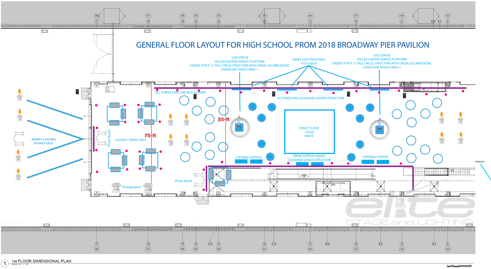 PROM MAIN BALLROOM FLOOR PLAN