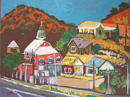 """""""The Entrance into Bisbee"""" by Suzanne McKee"""