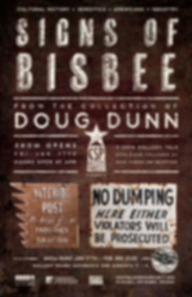 Doug Dunn - Signs of Bisbee Poster web-0