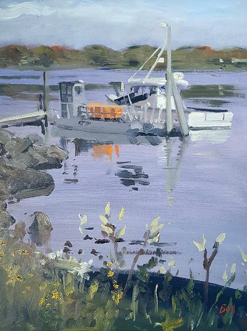 Portsmouth Harbor Study by Alan Bull