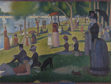 Pointillism and Georges Seurat  - Art project for families
