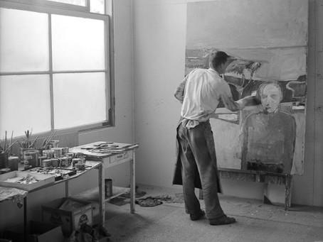 Artist Richard Diebenkorn