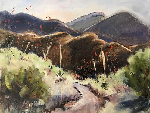 Mule Mountains by Carol Chandler