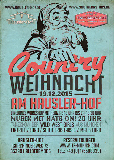 ITF Country Weihnacht 2015