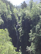 Corrieshalloch Gorge - 2 minutes drive from Braemore Walled Garden B&B