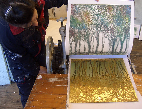 Collagraph Plates and Printing – Saturday 26th June 2021, Full day workshop