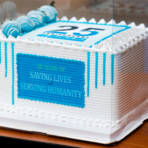 Celebrating 25 Years of Saving Lives and Serving Humanity