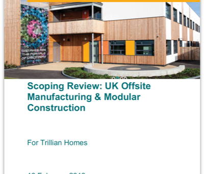 UK off-site manufacturing & modular construction