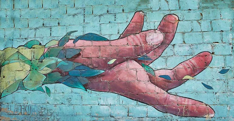 Open Hand - Artist: Amaru