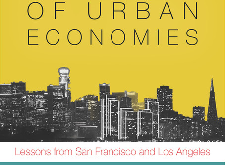 The rise & fall of urban economies