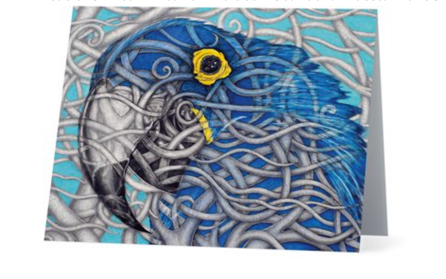 Blue Parrot Gift Card