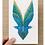 Thumbnail: Les Oiseaux bleu en Miroir Gift Card