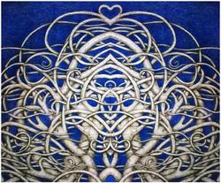 Symmetrical Blue