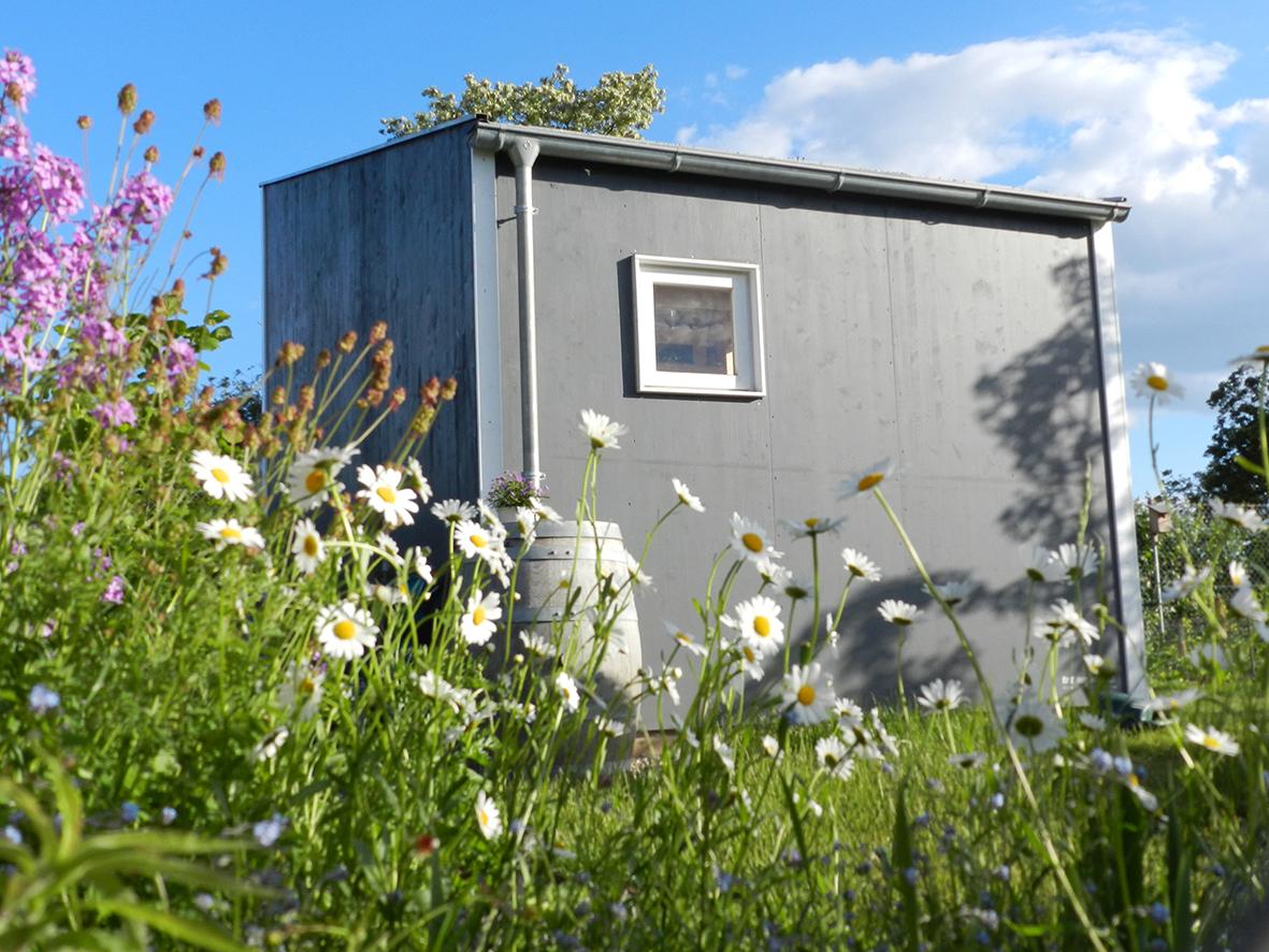 Gartenhaus Seite