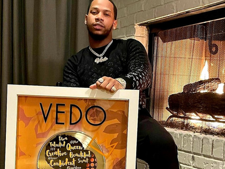 Musicbox Recording Group Scores Billboard Charting Artist Vedo For New Love Is Love R&B Project