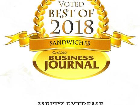 Meltz Voted Best Sandwiches of 2018