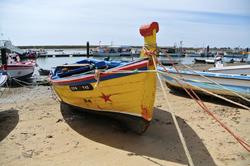 Bateau de pêcheur de Monte Gordo