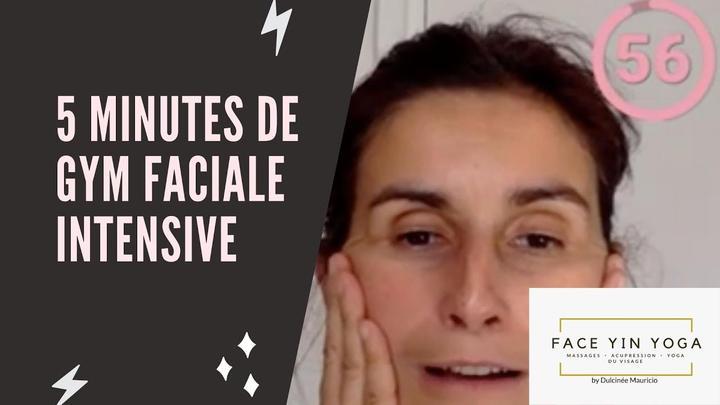 5 minutes de gym faciale intensive
