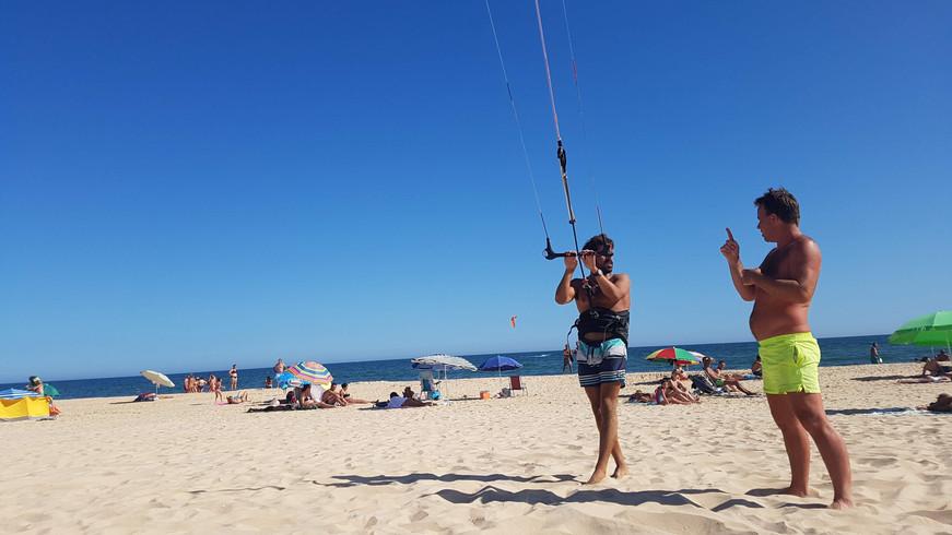 Kitesurf lesson algarve