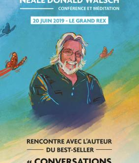 Neale Donald Walsch à Paris, le 20 juin