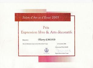 PRIX ART & ESSAI 2005