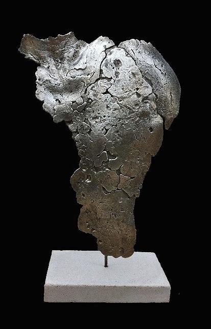 Sculpture Étain