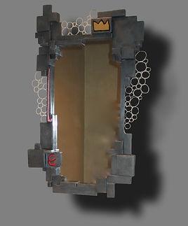 Miroir Zinc