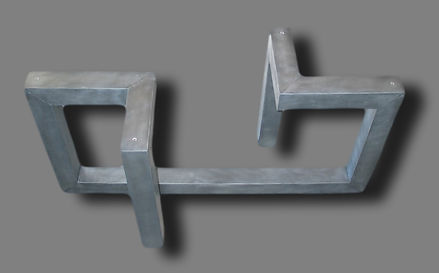 Pied de table ZINC