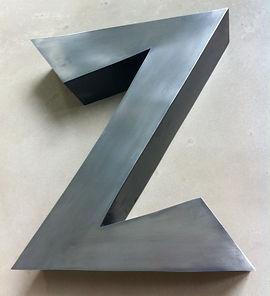 Lettre Zinc