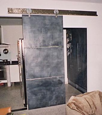 Porte Loft Zinc