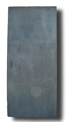 Porte zinc rivetées