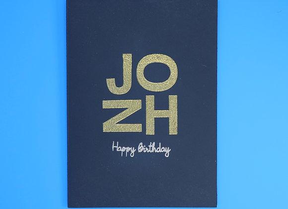 Birthday Name Celebration