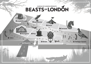 Beasts room plan