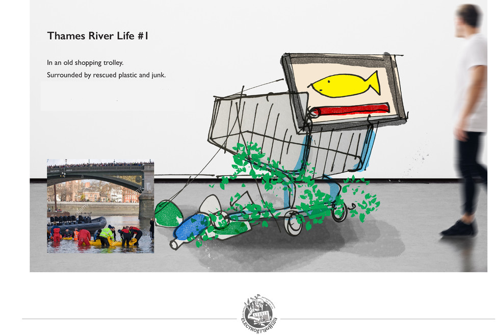 Waterways interactive screen