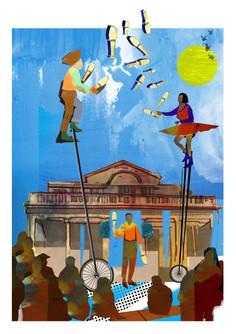 Shortlisted for The Association of Illustrators (AOI) Prize for Illustration 2015.
